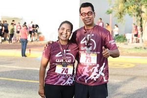 08092019 CARRERA ATLéTICA.  Verónica y Luis Antonio.
