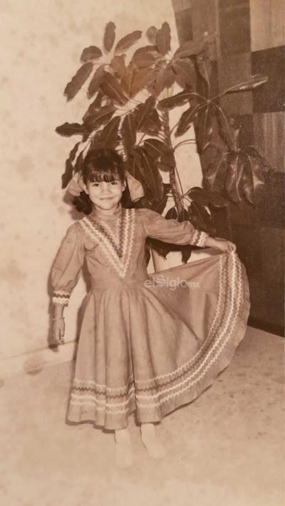 María Hortencia Mayela Acosta Gallardo, año 1967.