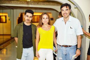 Isidro, Itziar y José Miguel