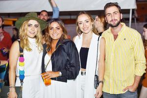 María Andrea Ramírez, Regina Nieto, Karla Soto y Manolo Handal