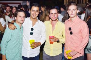 Vicente, José, Jorge y Fernando