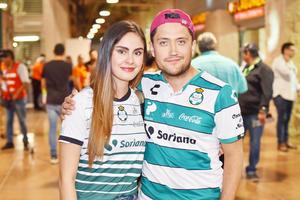Lizeth Morales y Alfonso Guerrero