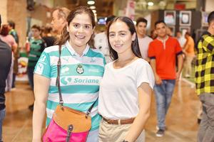 Mariana y Andrea