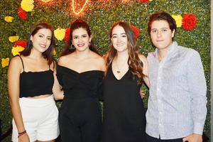 Juliana, Sara, Coynta y Humberto