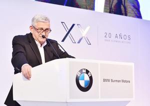 Ceremonia del 20 aniversario de BMW