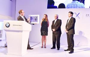 Entrega de reconocimientos en el 20 aniversario de BMW