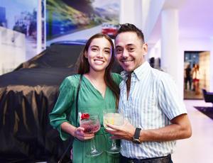 Maryfer Quirarte y Pedro Franco