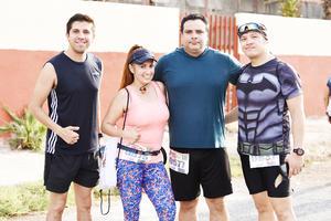 Ana, Manuel, Alan y Oscar
