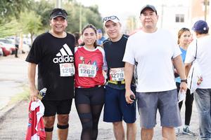 Beto Anaya, Ana Sofía Anaya, Javier Aguayo y Hugo Juárez