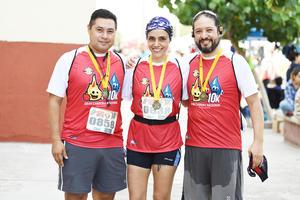 Carlos Loza, Liliana Montelongo y Saúl Mendoza