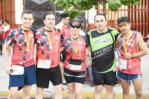 Fer, Jorge, Rosario, Gerardo y Juan José