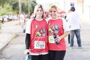 Grecia Gómez y Martha Ríos