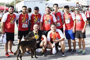 Javier, Enrique, Jorge, Héctor, Víctor, José Ángel, Ángel, Alfredo y Fernando