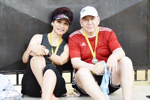 Lourdes Vázquez y Ricardo Gómez