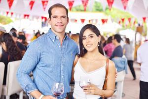 Pablo Armendáriz y lucero Anaya