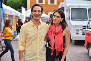 Ricardo Blancas y Rocío Pérez