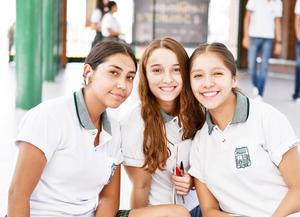 Alía, Rassha y Sofía