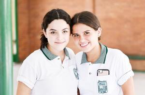 Ana Regina Carrillo y Mari Jose Ramírez