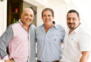 Lacho Madero, Luis Diz e Ignacio Chacón