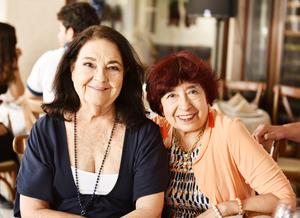 Mercedes Rodríguez e Irma Hernández