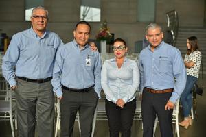 11092019 ANIVERSARIO DE CIMACO.  Armando, Fernando, Yajaira y Óscar.