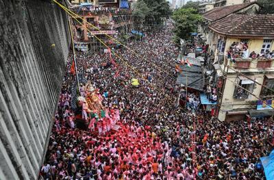Se celebra como el cumpleaños de Lord Ganesh.