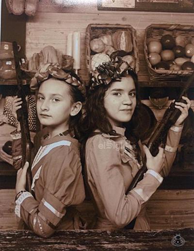 Mariángel y Keyla.