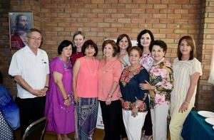 12092019 EN SU REUNIóN MENSUAL.  Integrantes de las diferentes asociaciones pertenecientes a Acción Social.