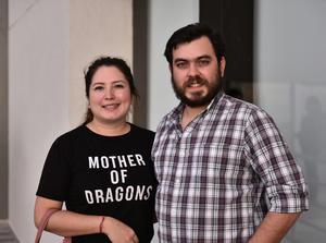 12092019 EVENTO CULTURAL.  Mitzy Regalado y Luis Reyes.