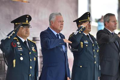 El acto fue presidido por el alcalde Jorge Zermeño.