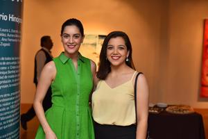 13092019 MUY GUAPAS.  Marisol y Ana Lucía fueron captadas asistiendo a reciente evento social.