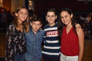13092019 Fernanda, Dago, Sebastián y Camila.