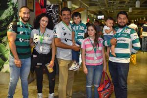 13092019 EN EL TSM.  Laguneros listos para apoyar al Santos.