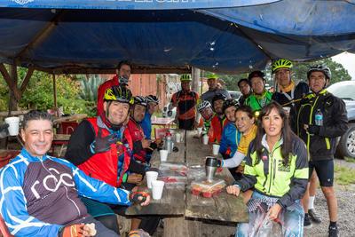 Mexiquillo fue el paraje en donde pernoctaron los ciclistas para alistarse al segundo día.