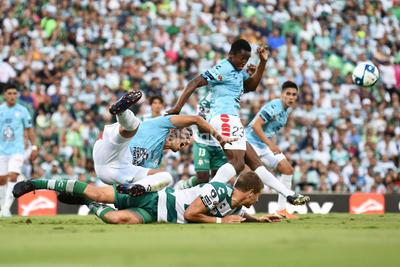 Santos logra empatar de local ante Pachuca