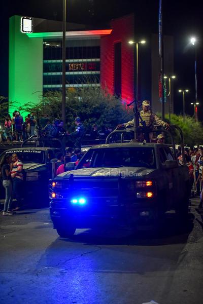 Autoridades reportaron saldo blanco en los festejos.