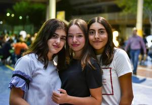 16092019 Danna, Sabrina y Marianne.