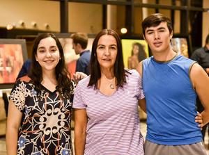 16092019 GOZAN DE EXPOSICIóN DE ARTE.  Alicia Valdez, Mirna Salazar y Andrés Romero.