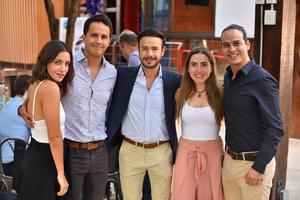 17092019 Cristina, Fernando, Ángel, Natalia y Antonio.