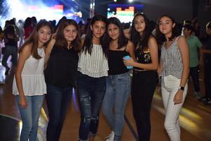 17092019 Sofía, Juliana, Luciana, Natalia, Gaby y Ana Paola.