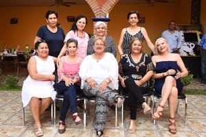 16092019 REENCUENTRO.  Sara, Patricia, Gerarda, Irma, Petra, Agustina, María de los Ángeles, Verónica y Patricia.