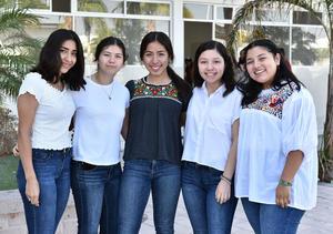 17092019 Pamela, Paola, Daniela, Fernanda y Ruth.