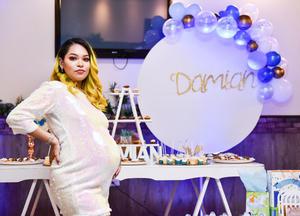 17092019 EN SU BABY SHOWER.  Fernanda Ríos espera a su primer bebé en octubre.