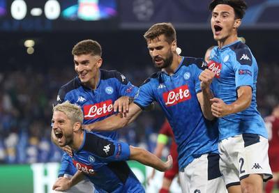 Napoli se impone al actual campeón de la Champions