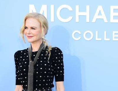 Nicole Kidman en pasarela de Michael Kors.