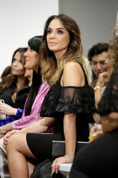 Lupita Jones en el evento 'Fashion Designers of Latin America'.