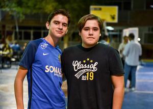 18092019 Amigos. Manolo Díaz y Esteban Zamudio.