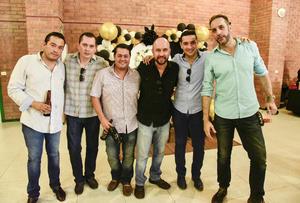 18092019 Javier Rodríguez, Fernando López, José Chavez, Roberto Jiménez, Luis Álvaro y Óscar.