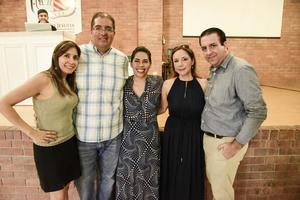 18092019 Gaby Fragoso, Antonio Montaña, Pamela Alba, Laurencia Villarreal y Omar López.