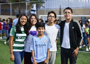 18092019 Jeniffer, Tamara, Marvin, Erick y Sebastián.